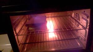 Heating Element In Toaster Toaster Oven Element Burned Out Youtube