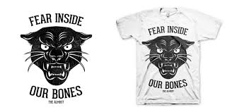 the almost panther t shirt design by fuggart mintees