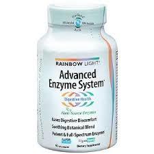 rainbow light advanced enzyme system rainbow light advanced enzyme system herbal supplements reviews