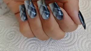 advanced ombre faux airbrush nail design youtube
