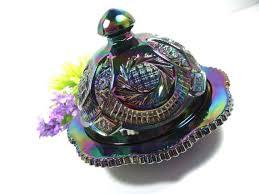classic svan ring holder images 56 best carnival glass images carnival glass jpg