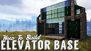 ark elevator workshop build guide elevator base building