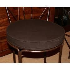 galettes de chaises rondes coussin galette pour tabouret de bar assise ronde 35 cm