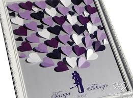 purple guest book 374 best wedding guest book ideas images on