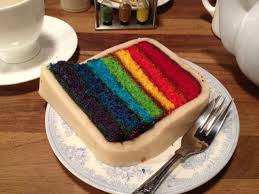 rainbow battenburg cake baking forums