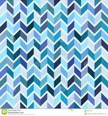 seamless geometric pattern blue mosaic illustration 35947865