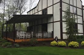 Pergola With Awning by Retractable Pergola Awning Photos Norther Nj Bergen Awnings