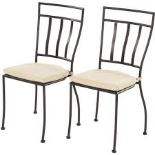 Wrought Iron Bistro Chairs Wrought Iron Chairs Amazon Com