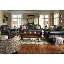 Ashley Furniture Warehouse San Antonio Tx Ashley Furniture Breville Livingroom Set In Charcoal Local