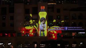 Halloween Chasing Ghost Projector by Fanta Chase Dubai 3d Projection Mapping 3d Mapping U0026 Other Cool
