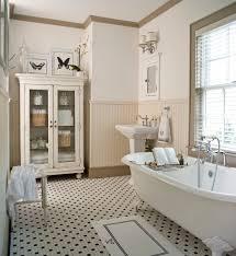 Bathroom Baseboard Ideas Superb Linen Cabinet Look Other Metro Traditional Bathroom Image