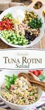 simple tuna rotini salad u2022 the healthy foodie