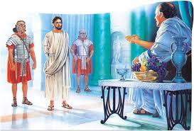 imagenes de jesus ante pilato mateo 27 libro 40 estudio biblico de nico
