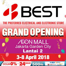 bca aeon best denki grand opening promo at aeon mall jakarta garden city