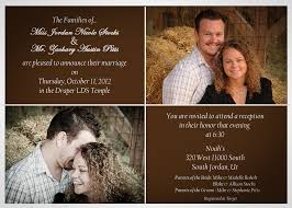 wedding announcements wedding announcements mike s photo