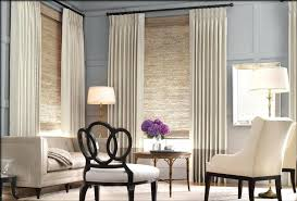 livingroom window treatments bay window curtain ideas for living room treatment throughout