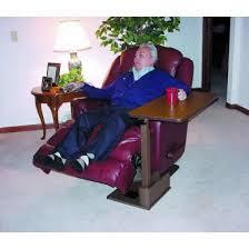 swing table for recliner marvelous recliner side table with stressless recliner swing table