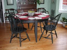 custom table and windsor chairs by mike willis woodworking
