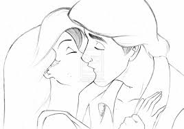 ariel and eric by hannas2 new tattoo ideas pinterest kissing