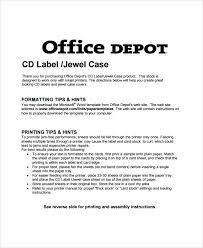 sample jewel case template 6 free documents download in pdf