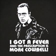 More Cowbell Meme - on showing vs telling or more cowbell