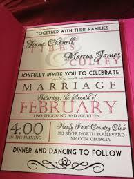 vista print wedding programs 25 fuschia pink black white polka dot belly band pocket wedding