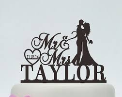 personalized cake topper wedding cake topper etsy