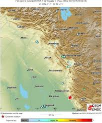 map of bagdad m5 5 earthquake زلزال strikes 136 km e of baghdad iraq 7 min