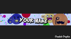 agar io youtube channel art template 5 free photoshop download