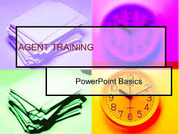 agent training powerpoint basics goals after today you will be