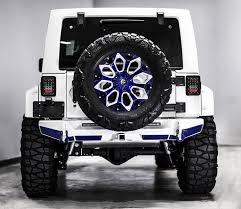 jeep unlimited custom this stormtrooper of a jeep wrangler is 60 000 worth of overkill