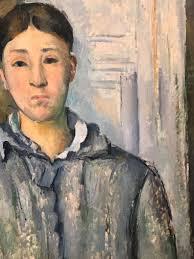 Madame Cezanne In A Red Armchair Cézanne Peint U2026 U2013 Reinventingrid