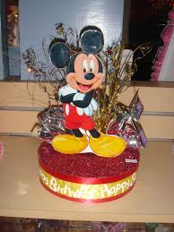 mickey mouse centerpieces mickey mouse centerpiece or cake topper