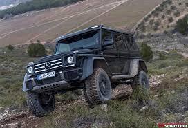mercedes truck lifted exclusive mercedes benz g500 4x4 review gtspirit