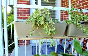 porch rail planters u2013 keepwalkingwith me