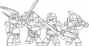 lego ninjago coloring pages boys free printable