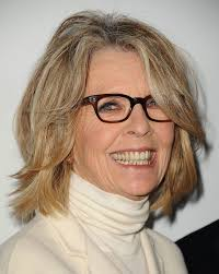 best hairstyles on celebs over 40 diane keaton u0027s layered bob lots