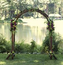 wedding arches and canopies waterfall hibiscus flowers and