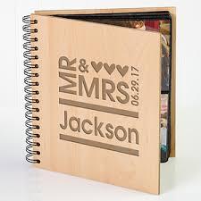 personalized wedding photo album personalized wedding photo album mr mrs