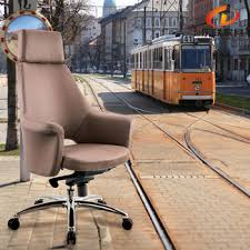 Leather Rolling Chair Modern Humanscale Leather Swivel Chair Otobi Executive Chair