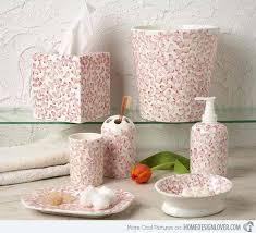 Gray Bathroom Accessories Set by 25 Best Pink Bathroom Accessories Ideas On Pinterest Gold