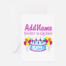 sweet sixteen birthday greeting cards thank you cards and custom