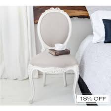 french bedroom chair provencal taupe linen dressing chair bedroom chair decorate