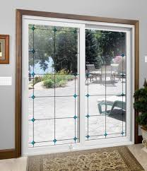 patio doors 5fto doors ft door replacement with blinds inside