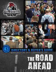 mats 2014 digital directory by mid america trucking show issuu