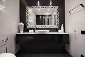 black and silver bathroom ideas black white silver bathroom ideas emejing black white silver
