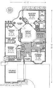 tudor style house plan 3 beds 2 00 baths 2088 sq ft 310 533