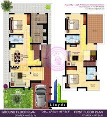 home design 40 40 home design sq ft bedroom villa in cents plot kerala home design