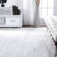 Black And White Rug Overstock Nuloom Handmade Soft Plush Shag Rug 7 U00276 X 9 U00276 Free Shipping