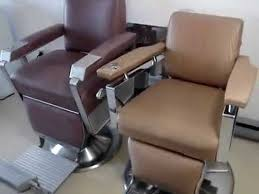 Antique Barber Chairs For Sale Kochs Paidar U0026 Koken Barber Chairs From 50 U0027s 60 U0027s Youtube
